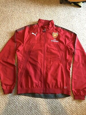 Genuine Official Puma Arsenal Training Jacket Top XL New With Tags • 10£