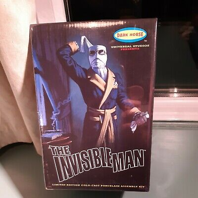 Aurora  ? Invisible Man Dark Horse Model Kit  Cold Cast  Factory Sealed  • 200£