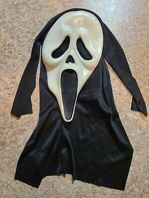 $ CDN70 • Buy Vintage Scream Ghost Face Mask Easter Unlimited T Stamped 9206S Glow In The Dark