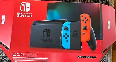 AU430 • Buy Nintendo Switch Neon Blue And Red Joy‑con.