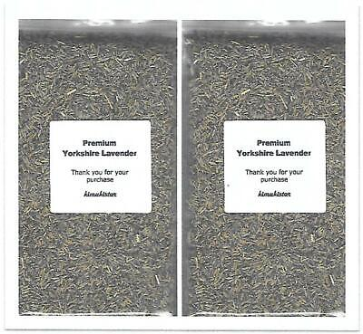 100g Natural Dried Strong Scent Yorkshire Lavender Pot Pourri Crafts • 4.25£