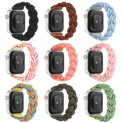 AU17.99 • Buy For Apple Watch Band Series SE 6 5 4 3 2 Nylon Elastic IWatch 38/40/42/44 Strap