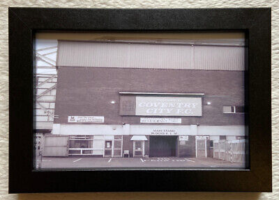 £13.95 • Buy Coventry City Fc Highfield Road Picture Framed Birthday Dad Fan Gift Brand New🎁