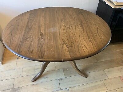 Vintage Retro Ercol Ercol Chester Extending Extendable Dining Table Mdl 1117 • 255£