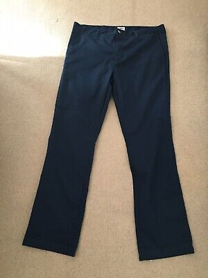 Edwin Chino Trousers, Navy.  Size 36 X 33.  Immaculate Condition. • 15£