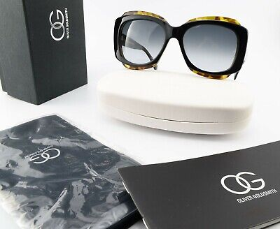 £244.09 • Buy Oliver Goldsmith Sunglasses 57 18 145 Tak 1967 Wakame Butterfly Italy C2012