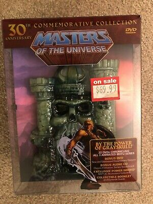 $200 • Buy Masters Of The Universe: 30th Anniversary Commemorative Collection (DVD,...