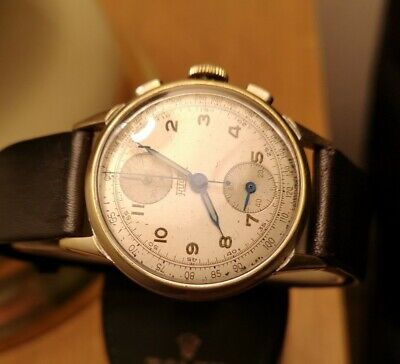 $ CDN820 • Buy Hugex Vintage Men's Chronograph Watch