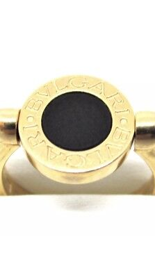 AU1500 • Buy Genuine 18ct Rose Gold Bvlgari Flip Ring, Mother Of Pearl & Onyx, 6.1 Grams