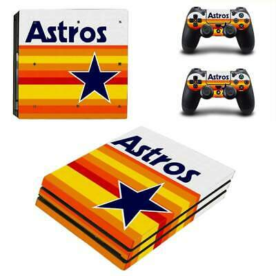 AU15 • Buy Sony PlayStation 4 PS4 Pro Console 2 Controllers Vinyl Skin Sticker Decal Cover