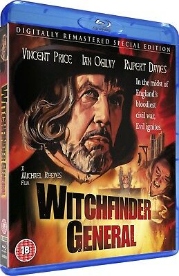 £16.96 • Buy WITCHFINDER GENERAL [Blu-ray] 1968 (The Conqueror Worm) Vincent Price UK Horror