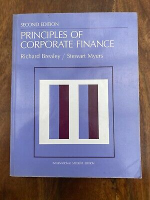 £4.99 • Buy Principles Of Corporate Finance - Richard Brealey & Stewart Myers - (Acceptable)