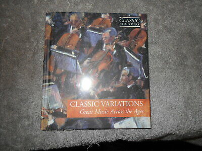 Classic Variations Great Music Across The Ages  Sealed Classic Composers Cd  • 2£
