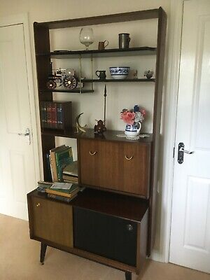 G -Plan E Gomme Librenza Teak Wooden Room Divider/ Wall Unit 1960's • 110£