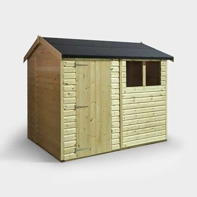 Wooden Garden Shed 8x6, T&G Roof And Floor.  • 595£