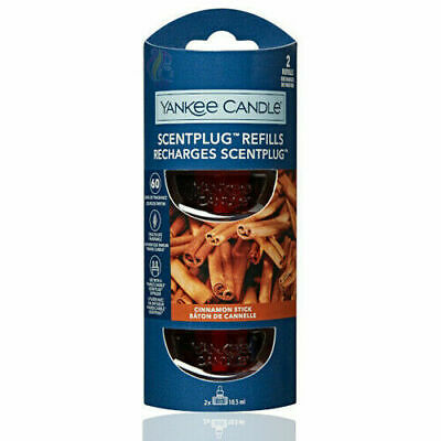 Cinnamon Stick  - Yankee Candle Scent Plug Refill Pack Of 2 NEW • 9.49£