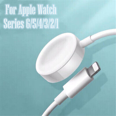 $ CDN13.77 • Buy For Apple Watch 654321 SE Magnetic Cable 38 40mm 42 44mm Charger Charging Dock