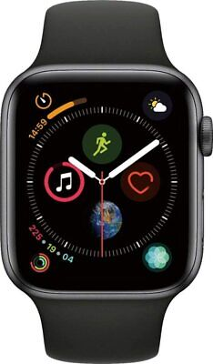 $ CDN525 • Buy Apple Watch Series 4 Space Gray With Sport Band Aluminum Case Black GPS 44MM