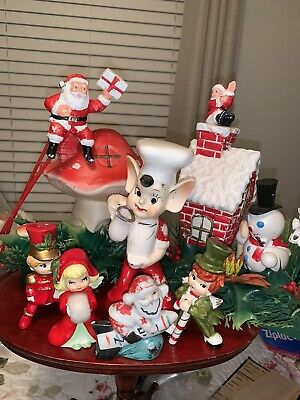 $ CDN36.84 • Buy VINTAGE CHRISTMAS DECORATIONS 1950's