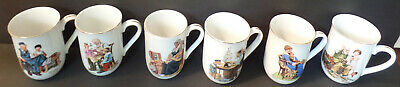 $ CDN40.08 • Buy Set Of (6) 1982 Norman Rockwell Museum Mugs(With Gold Trim)