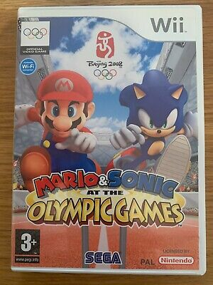 Mario & Sonic At The Olympic Games Nintendo Wii • 1£