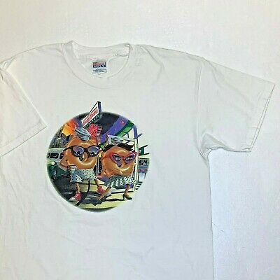 $59.99 • Buy Vtg 1990s Krispy Kreme Doughnuts Promo T-shirt Snack Food Coffee Candy Rare L