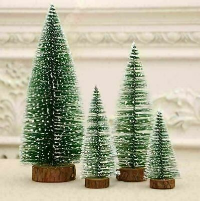 5PC Mini Table Christmas Tree Ornaments Xmas Home Party Desktop Decoration Gifts • 7.54£