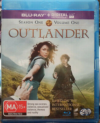 AU20 • Buy Outlander : Season One (Blu-ray, 2014) Vol's 1 & 2 (5-Disc Set) NEVER PLAYED