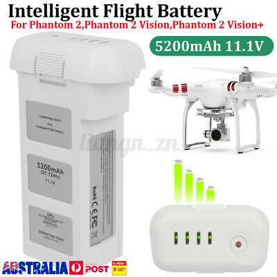 AU89.99 • Buy For DJI Phantom 2 Vision Drone 5200mAh 11.1V Intelligent 3S Spare Battery