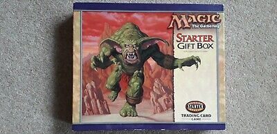Magic The Gathering Starter Gift Box - Trading Card Game - Complete • 25£