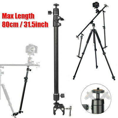 £13.77 • Buy Camera Slider Stabilizer Tripod Support Arm Video Slider 360 Degree Rotation