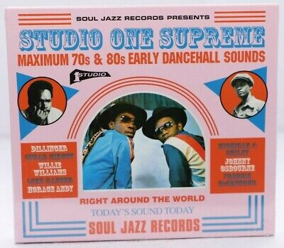 Various Artists : Studio One Supreme: Maximum 70s & 80s Early Dancehall Sounds • 10.99£
