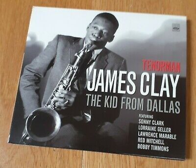 Fresh Sound 437 CD Tenorman JAMES CLAY The Kid From Dallas Sonny Clark Timmons • 4.99£
