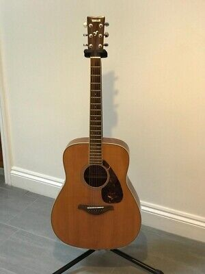 Pre Owned Yamaha FG720S Acoustic Guitar And Free Stand • 199£