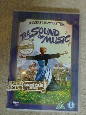 Rodgers & Hammerstein THE SOUND OF MUSIC DVD Sing Along With Lyric Booklet  • 1.99£