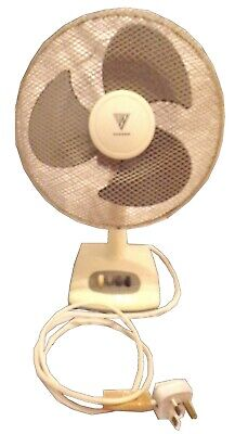 White Desk Fan • 30£