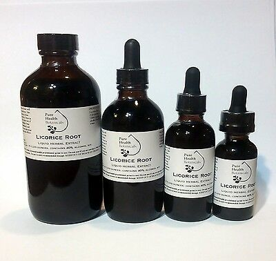 Licorice Root Tincture/Extract, Stress, Liver, Hormone Support, Highest Quality • 13.50£