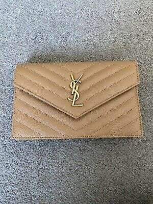 AU1500 • Buy Authentic YSL Wallet On Chain WOC