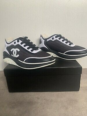 AU300 • Buy Chanel Black/white Shoes , Sneakers , Size 37, Authentic Genuine