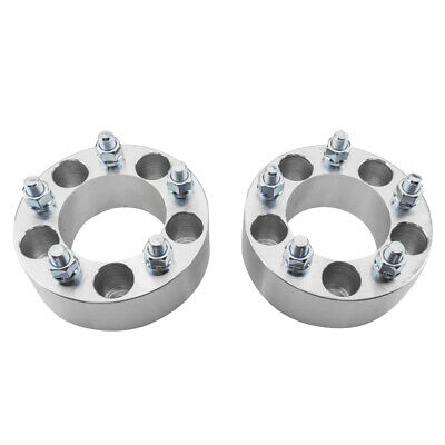 $33.99 • Buy 2 PCS 2  Thick 5 Lug 5x4.5 Wheel Spacers Adapter For Ford Ranger Jeep Liberty