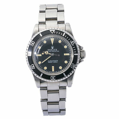 $ CDN16580.33 • Buy Rolex Submariner 5513 Vintage Matte Patina Dial 1983 Stainless Mens 40mm