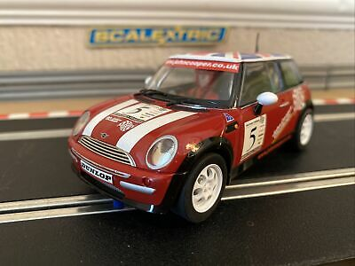 Scalextric Mini Cooper John Cooper Challenge No5 Excellent Cond Fully Serviced • 33£
