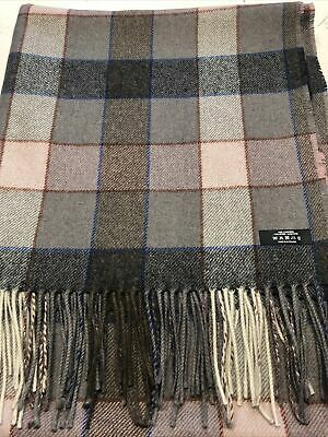 £75 • Buy 100% Cashmere Rug/Throw 150cm By 177cm Approximate
