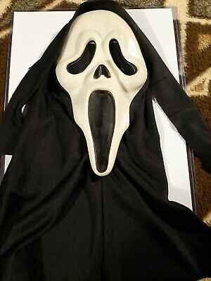 $ CDN400.98 • Buy Fearsome Faces Scream Mask Rds Mk Rare Vintage Ghostface Ghost Face Mask