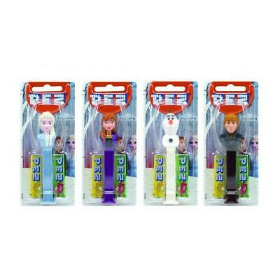 Frozen Pez Dispenser Character Retro Sweets Collectables Refills Elsa Anna Olaf • 3£