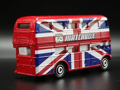 $ CDN14.92 • Buy Routemaster Double Decker Bus 1:64 Mb Scale Collectible Diorama Diecast Model