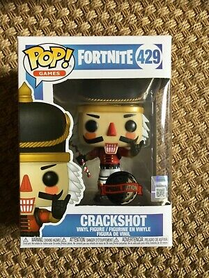 $ CDN51.10 • Buy Funko Fortnite Crackshot #429 Pop Figure New & Boxed Rare Special Edition