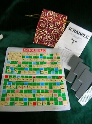 Vintage Spears Travel Pocket Magnetic Scrabble Word Game  1988 • 2.70£