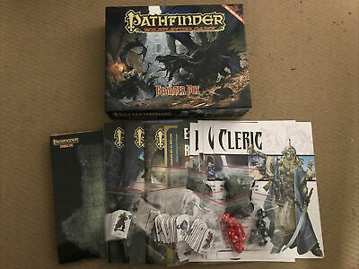 AU75 • Buy Pathfinder Role Playing Board Game Beginner Box Dungeons & Dragons COMPLETE