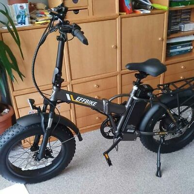 Electric Folding Bike 350w  13amp Battery Power And Assist New  • 799£